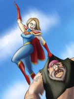 Supergirl Deals with a Lead by moviedragon009v2