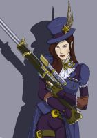 Steampunk Caitlyn by The-Piojolopez