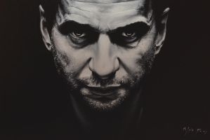Dave Gahan,oil painting 80x50cm by raaalk
