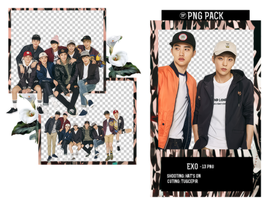 EXO PNG Pack by TugcePir
