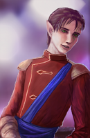 DAI: Inquisitor Lavellan by R-Aters