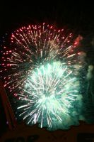 Fireworks Stock 52 by Malleni-Stock