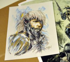 Raiden by thefreshdoodle
