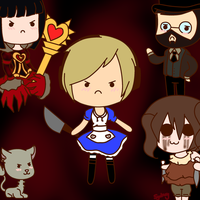 .:Pewdiepie-Alice Madness Returns:. by Xx-SydneyDaFox-xX