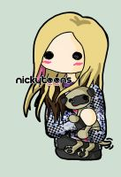 Avril Lavigne Puppy by NickyToons