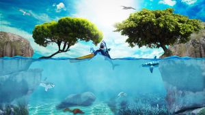 Ocean life by pdesign97
