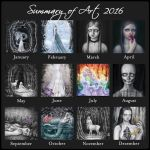 Summary of Art 2016 by SandraHultsved
