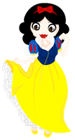 Princess Snow White by x-Laya-x