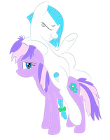Icy being Icy and Lavender Tolerating by Lyingsmile15