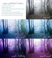 Blue and Purple Nature Photoshop Actions by magic-spelldust