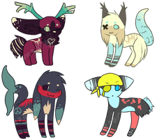 Lost an Eye Adopts (open) by Samooraii