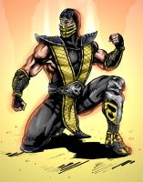Scorpion MK vs DC comics by predatorhunter79