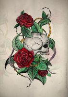 Skull by Your-Sweet-Death