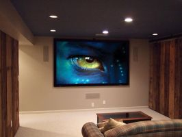 Avatar at a sweet-home-theatre by nanatrex