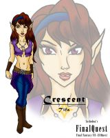 FinalQuest : Crescent by yashodoa