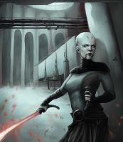 Ventress by Kaiser-chan