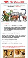 Rules: Pet Dinosaurs by 2Ajoe