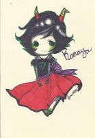 Kanaya Chibi by TravelersDaughter