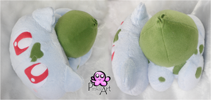 Bulbasaur Plush by PinkuArt