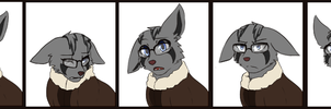 Commission - Mutt Reaction Set by MiaMaha