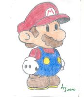 Paper Mario by AJcosmo