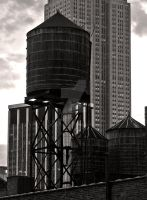 Water Tower by Bjartell