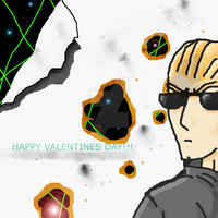 Wesker Valentines day for WICKEDOREO by jashinist112