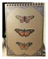 Butterfly Notebook by me-tal