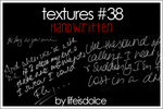 TEXTURES 38: HANDWRITTEN by lifeisdolce