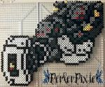 Glados by PerlerPixie