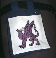 Finished Gryphon Favour by hollyann