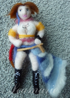 Yuna (Needle Felted) by Seamarie