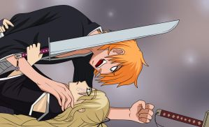 Ichigo and Misaki - First Fight by HwayoungMarshmallow