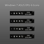 Windows 7 ASUS EPU-6 Icons by Chrispynutt