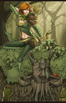 Windrunner and Treant by Scorch-D