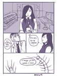 Tokyo Ghoul : re fancomic page 2 (fin) by lanternlovers