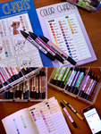 Color Charts: Color Collection by YamPuff