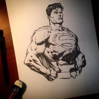 Superman (David Finch) by hudaim