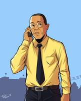 Gus Fring by TheFresco