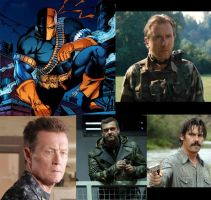 Deathstroke Fan Cast by MexPirateRed
