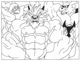 Buff Digimon 5 by Wolfstar by Stonegate