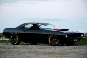 1970 Plymouth Barracuda by OkamIGrey