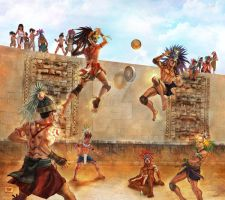 Mayan Game_PITZ by CarlosSneak
