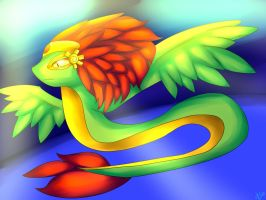 Spanish assignment QuetzalCotl by DalaneyBugg