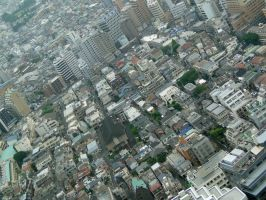 above Tokyo 2 by Corycat