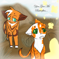 WVS :: Nettlepaw :: You Give Me Butterflies... by xHalfaLife101x