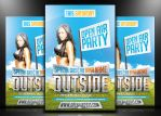 Outside - PSD Flyer by mrwooo