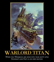 Warlord titan by commissar117