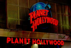 Time Square, Planet Hollywood by abelamario