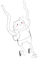 Small Finn Sketch by Celebi9